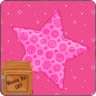 Pink Love Sparkle Star