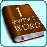 1 Sentence 1 Word