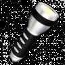Power-Button Flash Light