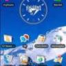 Air Force Falcons Clock Widget