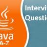 JAVA A-Z FAQ