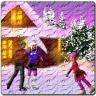 Snowy Ice Rink HD