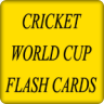 Cricket World Cup Flash Cards
