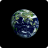 Earth Space Cycle Wallpaper