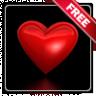 Beating Valentine heart