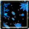 3D Animated Snowflakes