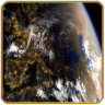 3D Space Earth Live Wallpaper