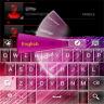 GO Keyboard Pink Cherry theme