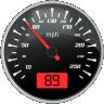 Racing Speedometer