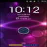 GO Locker Neon Purple HD Theme