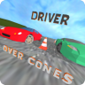 Driver - over cones