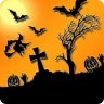 Halloween cemetery visit