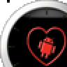 iHeart Android Big Analog Clock