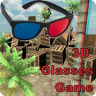 3D Glasses Red Cyan Test Game