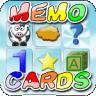 Memo cards for kids