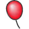 That's my balloon