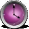 Cool Blue Analog Clock