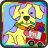 Coloring Bus Dog