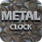 Metal Clock Live Wallpaper