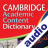Cambridge Academic Content Audio Dictionary