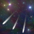 Night Sky Meteor Shower Live Wallpaper