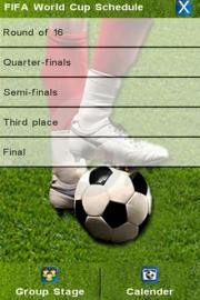 FIFA World Cup 2010 Schedule