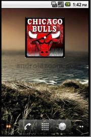 Chicago Bulls Widget Clock