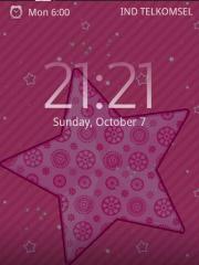 Pink Love Sparkle Star