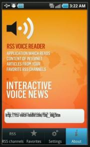 RSS Voice Reader