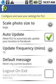 Facebook Location Updater