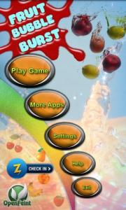 Fruit Bubble Burst Pro