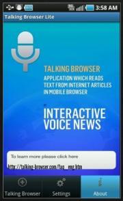 Talking Browser