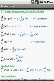 Calculus Quick Reference
