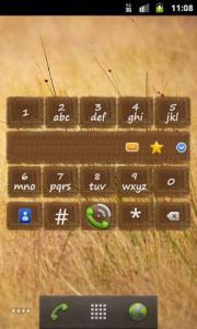 Impact T9 Dialer Widget