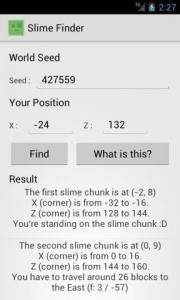 Slime Finder