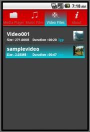 Shake Player App