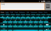 Berry Cyan Keyboard
