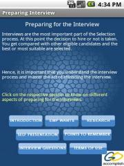 Preparing Interview