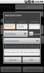 SC2 Build Timer Lite
