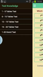 Learn 20 Tables