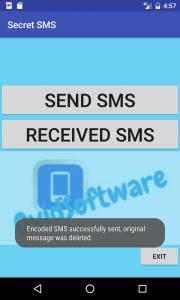 Secret SMS Demo