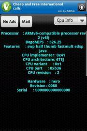 Test Phone Info
