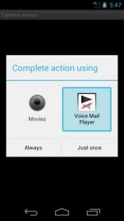 Voice Mail Player