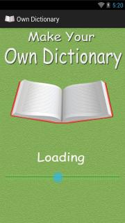 Own Dictionary