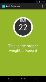 BMI Evaluator