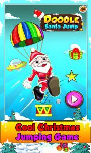 Doodle Santa Jump