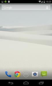 White Scrolling Live Wallpaper