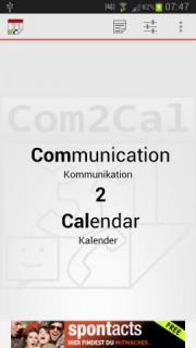 Com2Cal