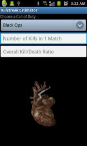 Killstreak Estimator