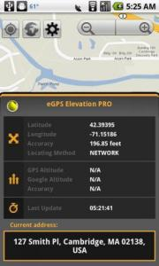 eGPS Elevation PRO+